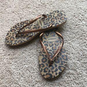 New Leopard Havaianas 9/10W